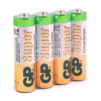 Батарейки GP Super Alkaline Battery 1.5V R3 ОМ-025/4/96/960/